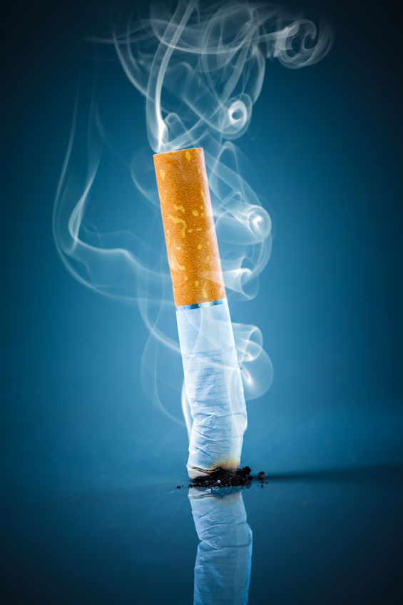 Cigarettes are in the News — Dr. Peter J. Rice