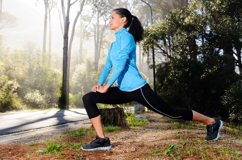 Strengthen Your Knees —  Try a Lunge!