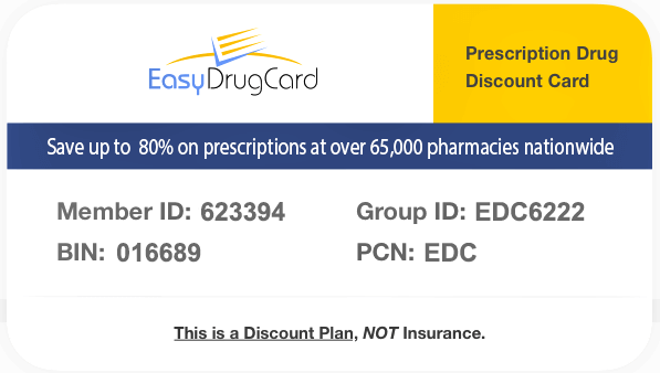 Discount Drug Card